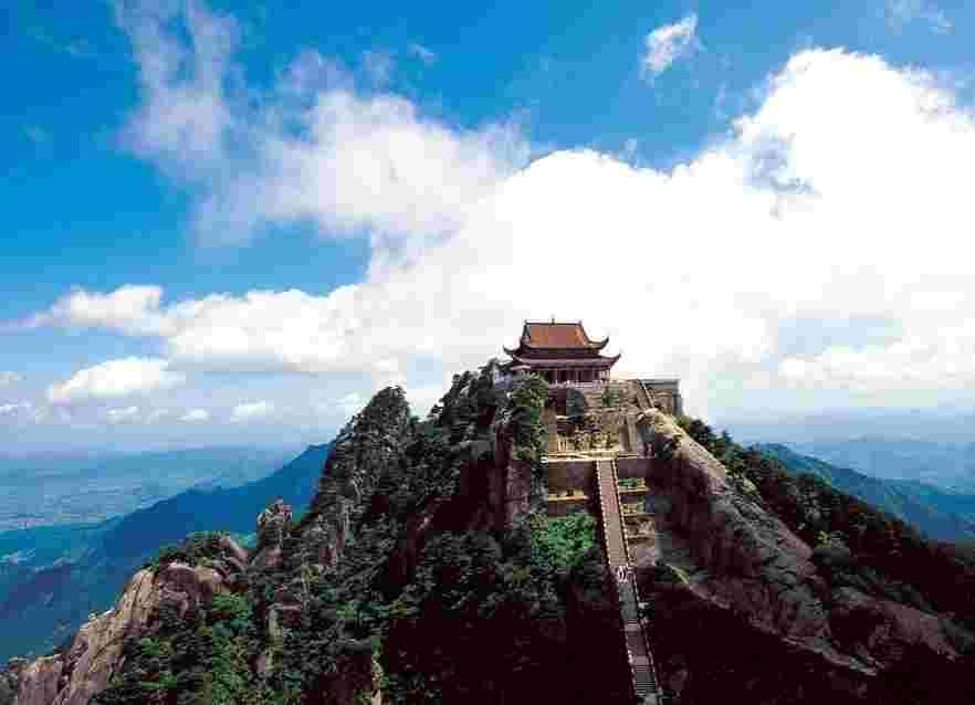 莲花佛国九华山、花台景区、99米地藏圣像景区四天祈福团
