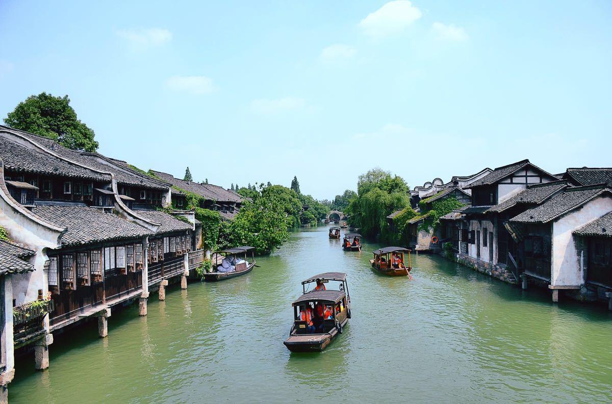 华东三市、夜宿乌镇漫游、水乡南浔、姑苏评弹 船游西湖、四天双飞精选纯玩团