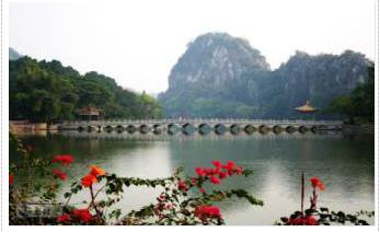 【肇庆】七星岩风景区、鼎湖山、 白沙龙母庙、水舞灯光秀2天