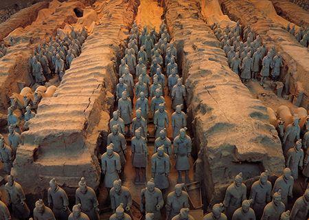 西安兵马俑、华山、黄帝陵、壶口、延安双飞6日