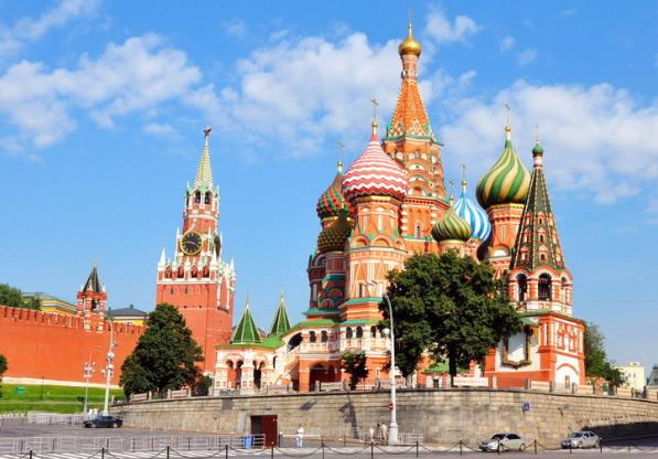 俄罗斯双城浪漫悦动8日双飞之旅