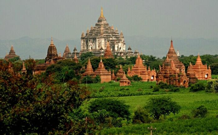 缅甸仰光 内比都 蒲甘 曼德勒三飞六天深度探秘之旅