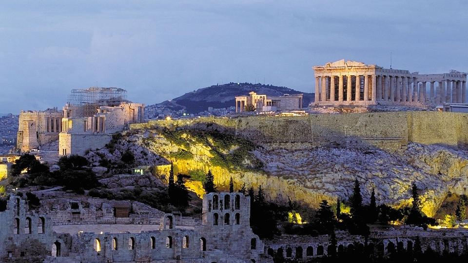 希腊雅典+梅戴奥拉修道院 +圣托尼里岛8天古希腊文化深度之旅