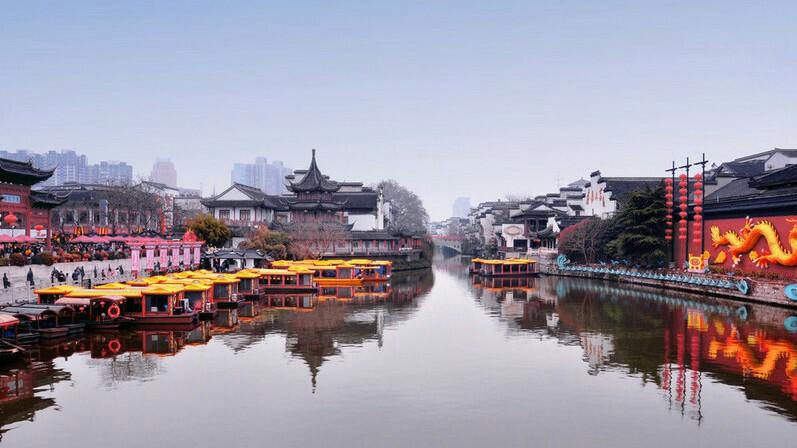 【华东六日特惠纯玩团】船游西湖、上海豫园商城、外滩、留园、鼋头渚六日游