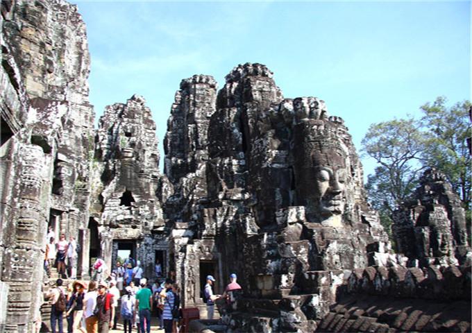 柬埔寨吴哥金边三飞纯玩五天团