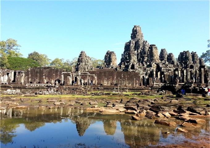柬埔寨金边+大小吴哥双飞六天