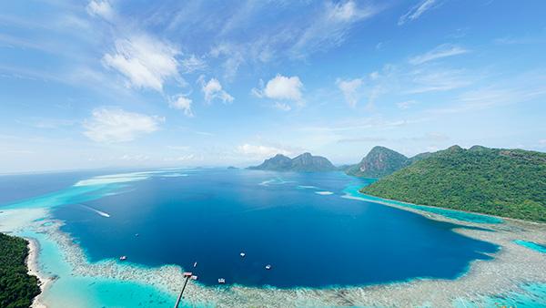 食尚沙巴·广州往返·彩虹岛+大堡礁6天4晚之旅