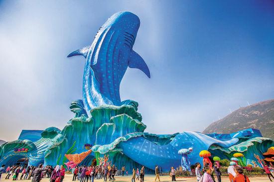 珠海长隆海洋王国、大型浪漫烟花特技秀、百万花海春游踏青两天