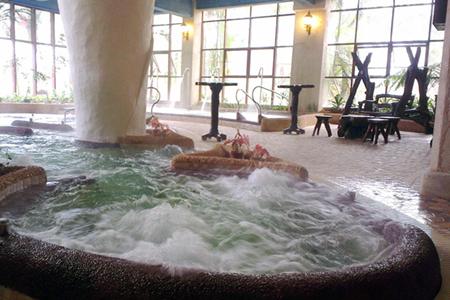 入住《龙门慢云温泉酒店》无限次浸泡温泉、那里花开主题花海、小楼人家、白水寨仙瀑、2天