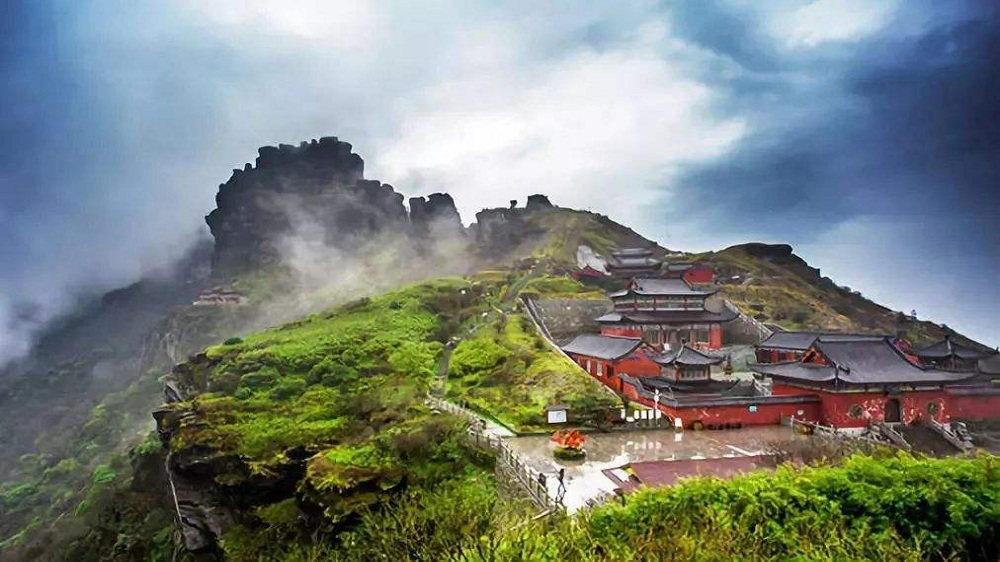 梵净山+天生三桥+镇远古城+南花苗寨·双动四天游