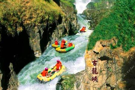 清远古龙峡国际赛道全程漂、牛鱼嘴森林公园超值2天游
